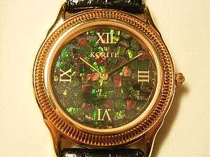 アンモライトの時計